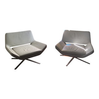 B&B Italia Metropolitan Chairs - a Pair For Sale