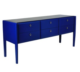 Image of Blue Credenzas and Sideboards