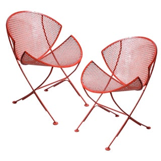 "Maurizio Tempestini for Salterini Clamshell""Chairs, A-Pair For Sale"