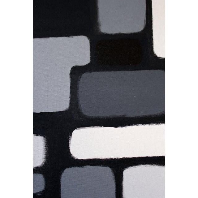 "Original ""Cityscene 3"" Painting - Image 3 of 3"