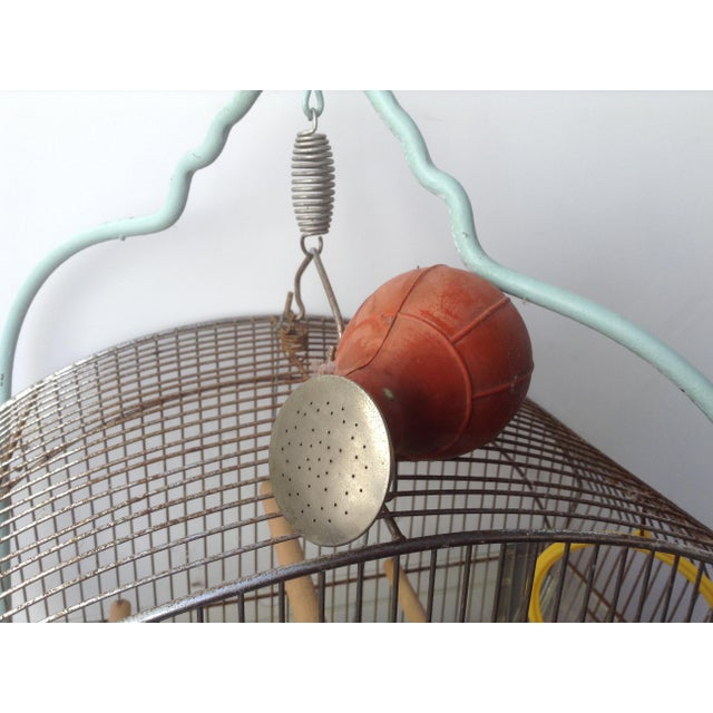 Tweety Bird Cage on Stand For Sale In San Francisco - Image 6 of 7