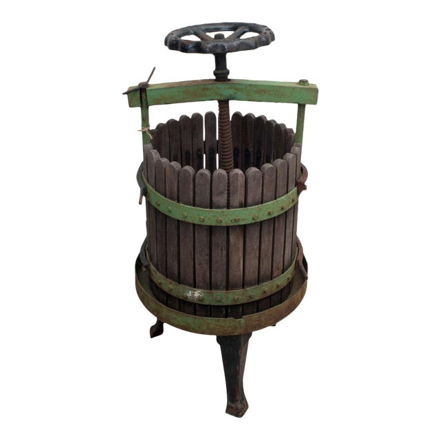19th Century Wine Press From Eger, Hungary For Sale