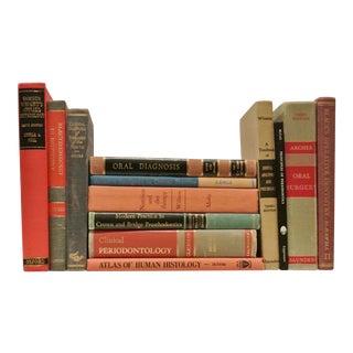 1930's-1960's Vintage Dental Books - Set of 13 For Sale