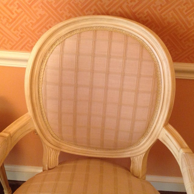 Louis XVI Style Chairs - A Pair - Image 4 of 7
