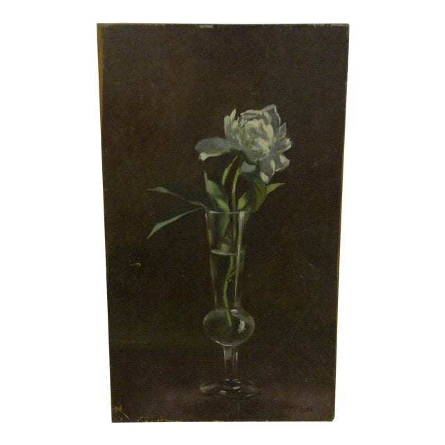 """""""The Flower"""" Original Frederick McDuff Painting For Sale"""