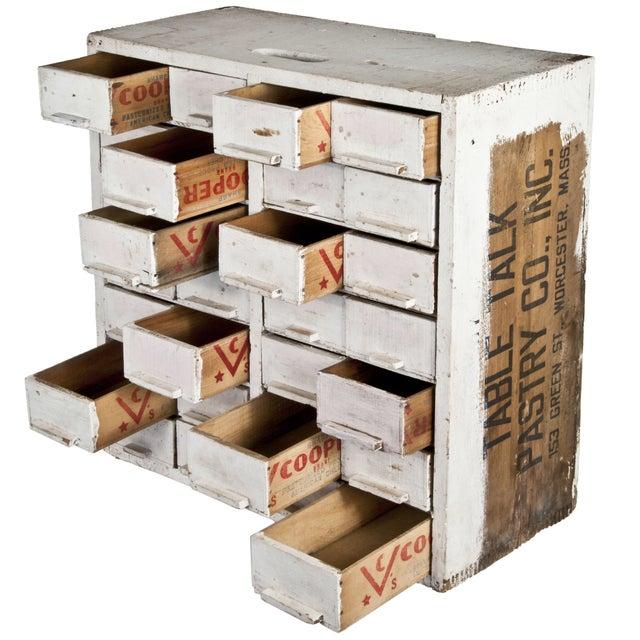 Handmade 28-Drawer Cheese Box Cabinet - Image 2 of 4