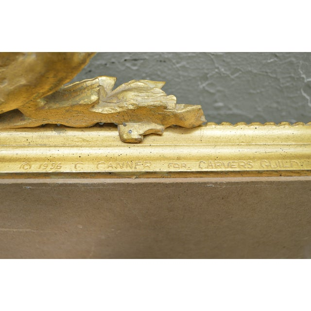 Carvers Guild French Louis XV Style Gilt Frame Beveled Wall Mirror For Sale - Image 10 of 10