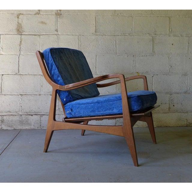 Norwegian Mid Century Modern Lounge Chair - Image 6 of 6