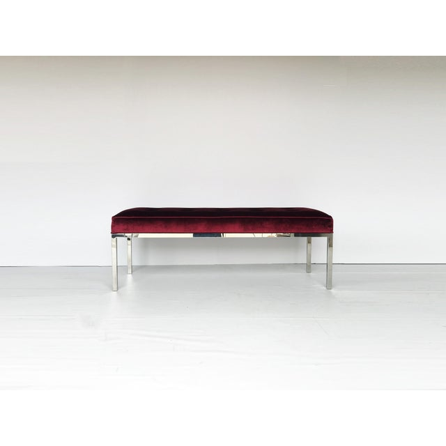 Designed by Florence Knoll in 1954, the bench is one of the great design achievements of modern times. Produced by Knoll,...