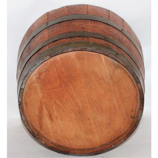 Late 19th Century 19Thc Wine Barrel / Container for Grapes For Sale - Image 5 of 6