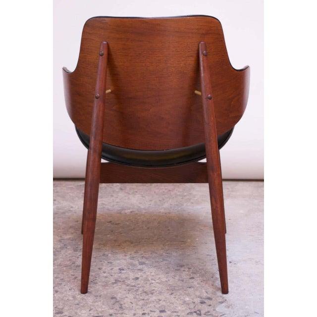 Seymour J. Wiener Seymour J. Wiener Walnut Lounge Chair for Kodawood For Sale - Image 4 of 13