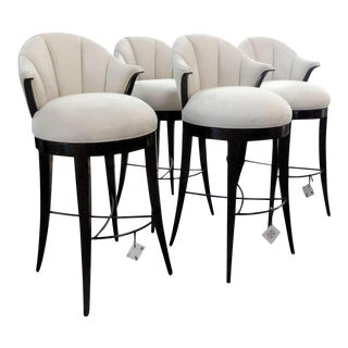 Christopher Guy Sunset Drive Swivel Barstools - Set of 4 For Sale
