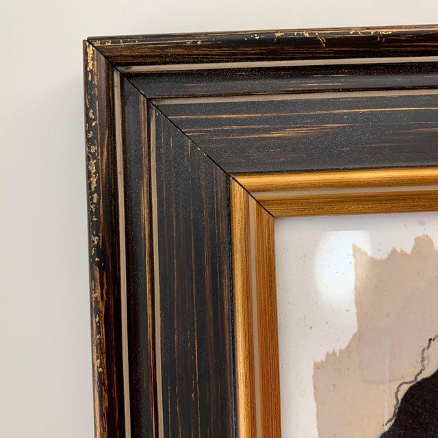 Joe Adams Framed Collage Art For Sale - Image 4 of 13