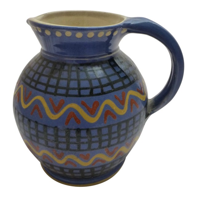 Mid-Century Italian Pottery Pitcher - Image 1 of 8