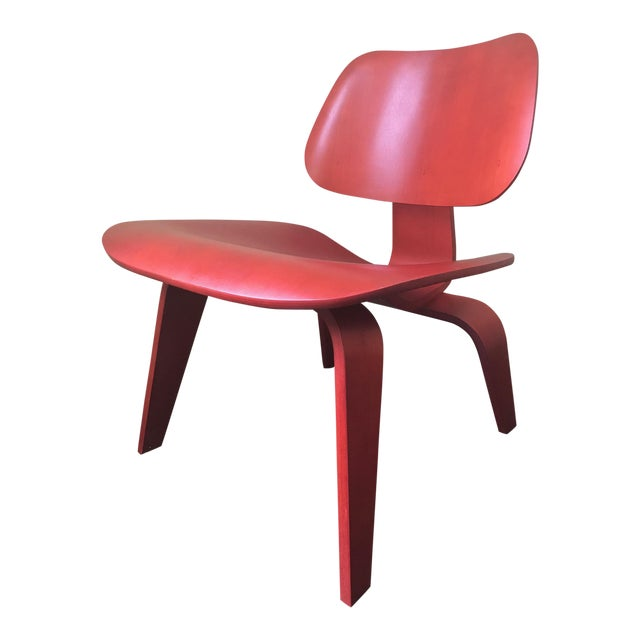 Eames LCW Red Chair - Image 1 of 8
