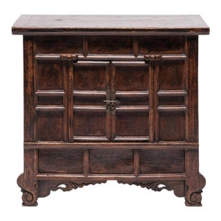19th Century Provincial Chinese Chest With Leopard Legs For Sale
