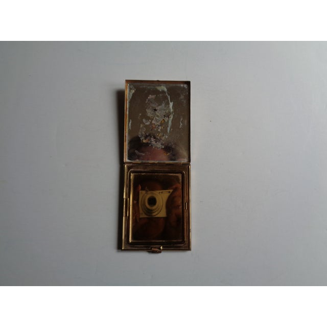 Vintage Mother of Pearl & Brass Compact - Image 5 of 6