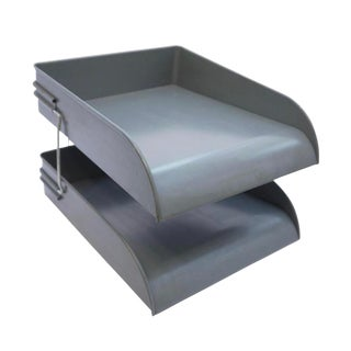 Globe Wernicke Metal Desk Tray For Sale