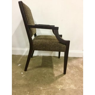 Vanguard Co. Transitional Leopard Print Arm Chairs Pair Preview