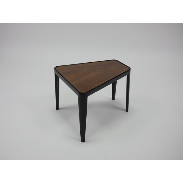 Mid-Century Modern Pair of Wedge Tables by Edward Wormley for Dunbar For Sale - Image 3 of 10