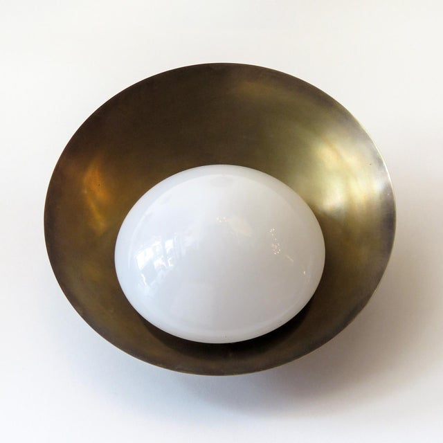"""Contemporary Custom """"Concha"""" Wall Lights For Sale - Image 3 of 11"""