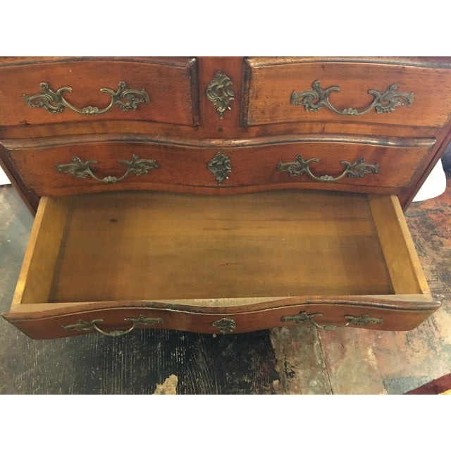 Brown Louis XIV Chest of Drawers For Sale - Image 8 of 13