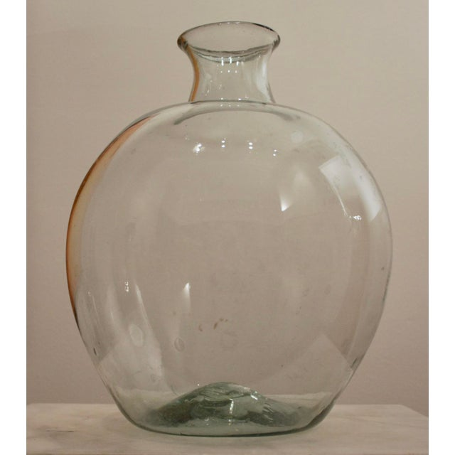 1970s Rustic Oversize Glass Demijohn / Carboy For Sale - Image 5 of 10