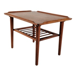 1970s Danish Modern Teak Side Table