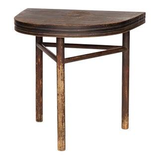 Sarreid Semi Circle Wall Table For Sale