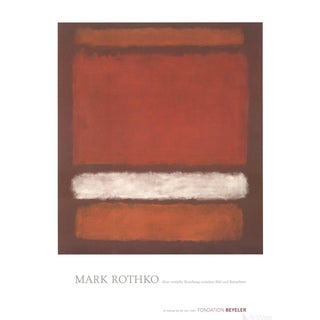 "Mark Rothko ""No. 7"" Poster For Sale"