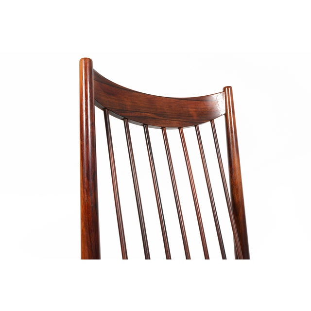 Arne Vodder Rosewood Dining Chairs - Set of 10 - Image 8 of 10
