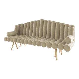 Flute Sofa by Artist Troy Smith - Contemporary Design - Custom Furniture For Sale