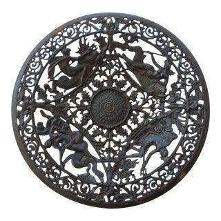 Pierced Metal Display Plate