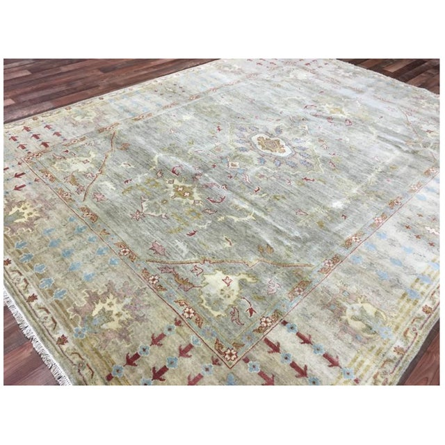 """Peshawar Hand Knotted Oriental Area Rug - 7'7""""x10' For Sale In Austin - Image 6 of 10"""