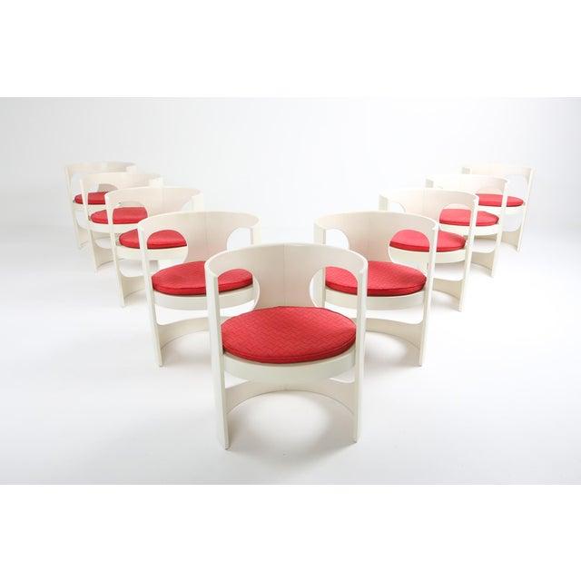 Wood Arne Jacobsen Pre Pop Dining Set for Asko - 1969 For Sale - Image 7 of 12