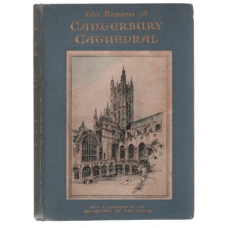 "1932 ""The Romance of Canterbury Cathedral"" Collectible Book For Sale"