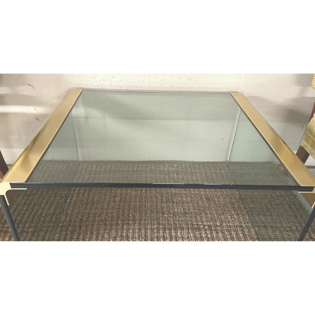 Metal Mid-Century Modern Pace Collection by Leon Rosen Waterfall Side Table For Sale - Image 7 of 10