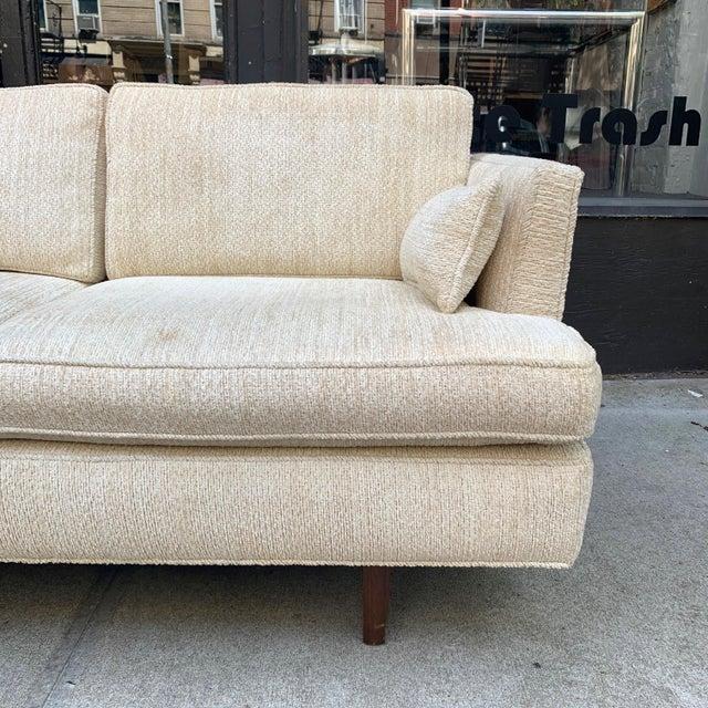 Dunbar Furniture Edward Wormley Three Seat Sofa for Dunbar For Sale - Image 4 of 10
