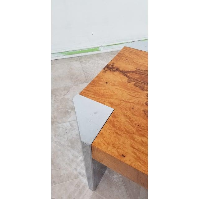Burl Wood Coffee Table For Sale In Los Angeles - Image 6 of 12