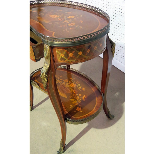 20th Century Louis XV Style Accent Table For Sale In Philadelphia - Image 6 of 8