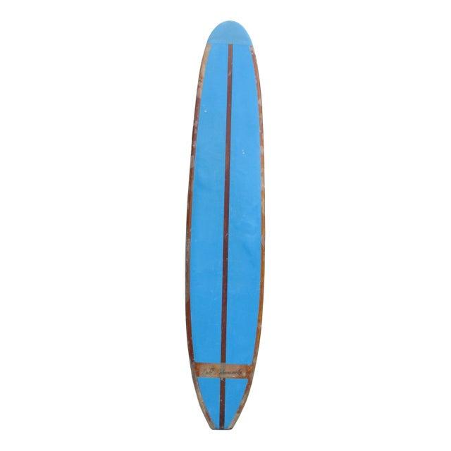 60s 10' Duke Kahanamoku Blue Surfboard - Image 1 of 5