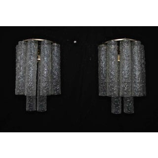 Hand Blown Murano Glass Sconces by Venini - a Pair Preview