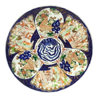 Large Imari Charger from Japan For Sale