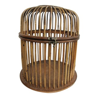 Bamboo Birdcage For Sale