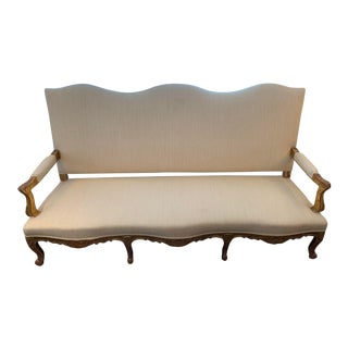 Gold Gilt Settee For Sale