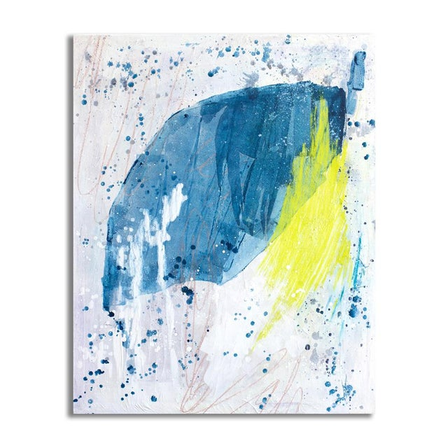 Mint Julip Original Abstract Painting - Image 2 of 3