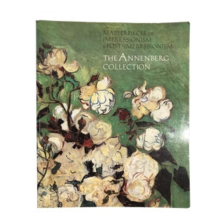"""""""The Annenberg Collection Art Masterpieces"""" 1989 Art Book For Sale"""