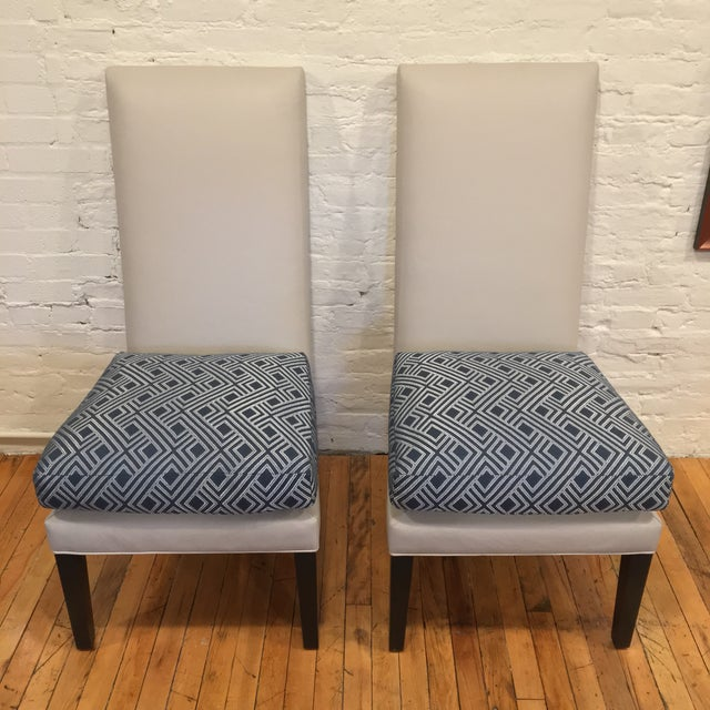 This is a pair of brand new, custom KRAVET De Paul chairs. Amazingly comfortable and stylish armchairs / dining chairs /...