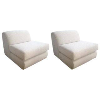 Steve Chase Slipper Chairs - A Pair