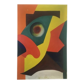 Mid-Century Modern Abstract Painting For Sale